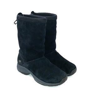 MERRELL Women's Black Suede Boots Size 9M